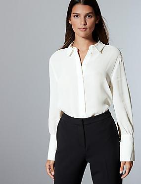 Long Sleeve Shirt , SOFT WHITE, catlanding