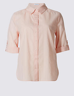 Pure Cotton Short Sleeve Shirt