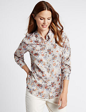 Graphic Daisy Blouse