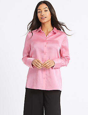 Deep Cuff Sleeve Shirt