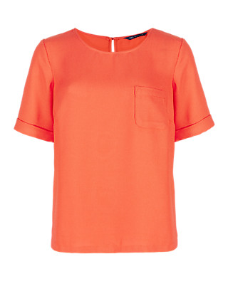 Short Sleeve Shell Top Clothing