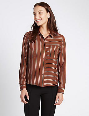 Loose Fit Striped Shirt