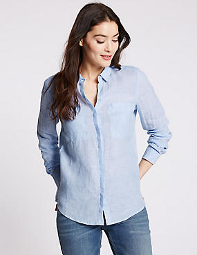 Womens Linen Clothing | Ladies Linen Suits & Tunics | M&S