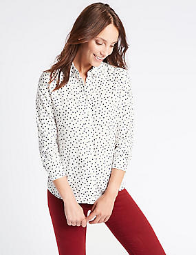 Spotted Long Sleeve Shirt