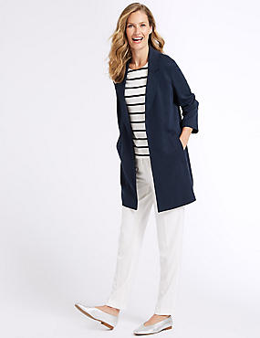 Chuck-on Coat, NAVY, catlanding