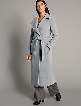 Wool Rich Wrap Coat
