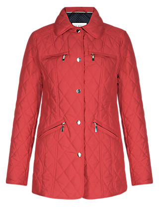 Zipped Pockets Quilted Jacket with Stormwear™ Clothing