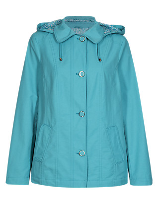 Detachable Hood Harrington Mac with Stormwear™ Clothing