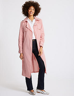 Stretch Trench Coat with Stormwear™, , catlanding