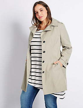 PLUS Trench Coat with Stormwear™