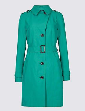Trench Coat with Stormwear™, JADE, catlanding
