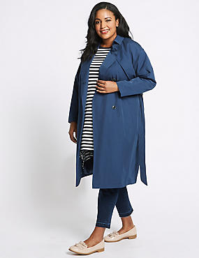 CURVE Belted Trench Coat