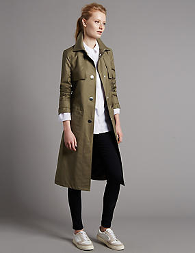 Belted Trench Coat with Stormwear™