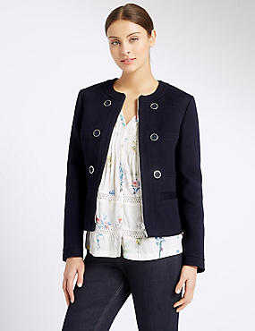 Pure Cotton Twill Jacket