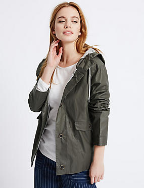 PETITE Pure Cotton Parka Jacket