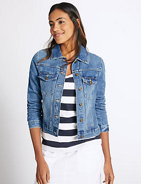 Denim Twin Pocket Jacket