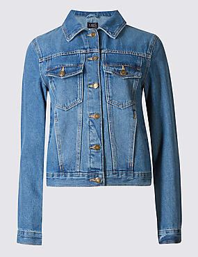 Denim 2 Pocket Jacket