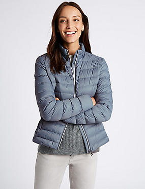 Padded Down & Feather Jacket with Stormwear™
