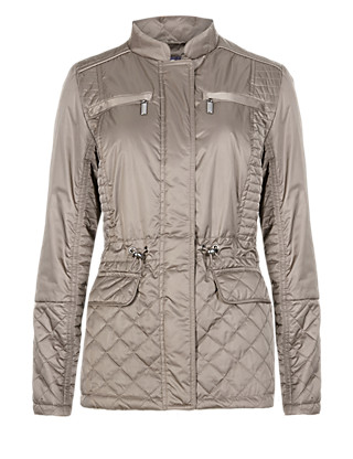 Lightly Padded 4 Pockets Quilted Jacket with Stormwear™ Clothing