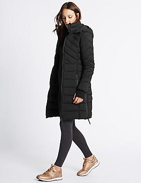 Padded Jacket with Detachable Hood