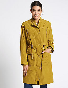 Drawstring Waist Parka with Stormwear™