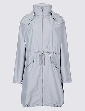 Lightweight Parka with Stormwear™, SILVER GREY, catlanding