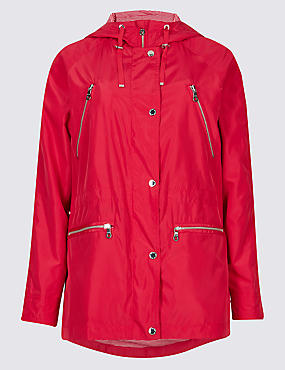 Parka with Stormwear™, CHERRY RED, catlanding