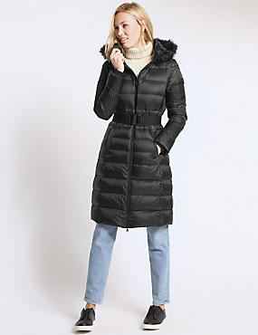 Downfill Hooded Coat