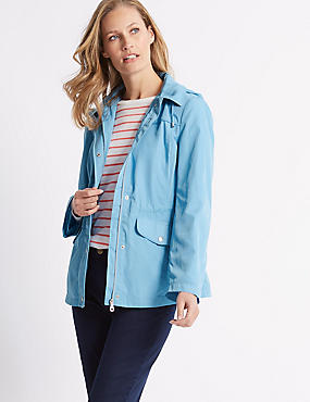 Harrington Anorak Jacket with Stormwear™, SKY BLUE, catlanding
