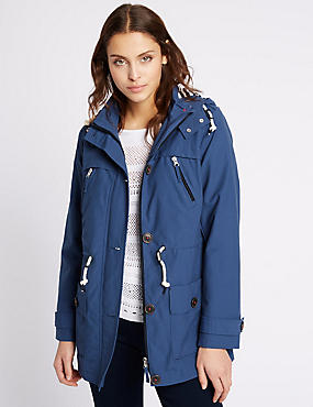 Cotton Rich Anorak with Stormwear™