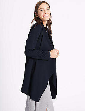 Open Front Waterfall Jacket