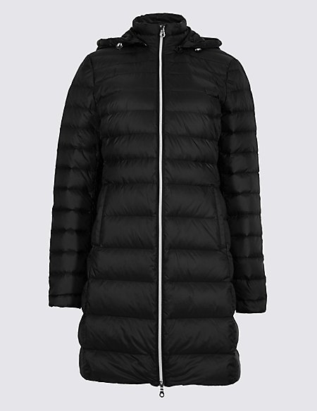Down & Feather Jacket with Stormwear™ | M&S Collection | M&S