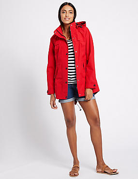 Waterproof Hooded Anorak