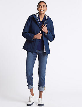 3 in 1 Waterproof Jacket, NAVY MIX, catlanding