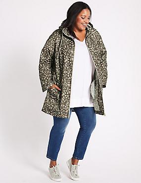 CURVE Printed Anorak Jacket with Stormwear™, MULTI, catlanding