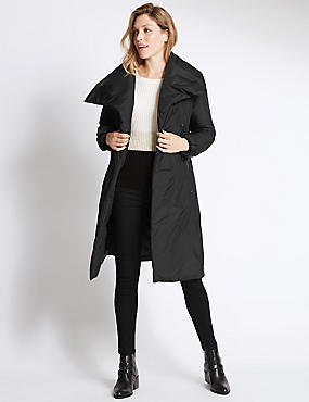 Padded & Quilted Duvet Coat