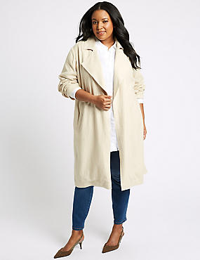 CURVE Linen Rich Waterfall Jacket