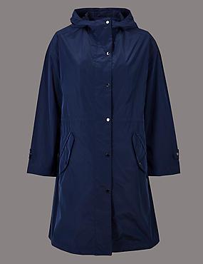Lightweight Parka with Stormwear™, NAVY, catlanding