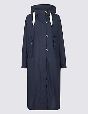Oversized Lightweight Parka with Stormwear™, NAVY, catlanding