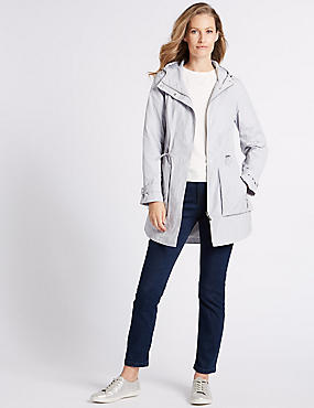 Jacquard Parka with Stormwear™, PEBBLE, catlanding