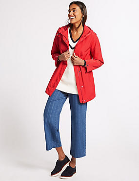 Anorak Jacket with Stormwear™, BRIGHT RED, catlanding