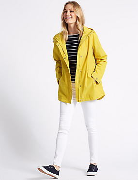 Anorak Jacket with Stormwear™, BUTTERCUP, catlanding