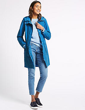 Waterproof Anorak, BRIGHT BLUE, catlanding