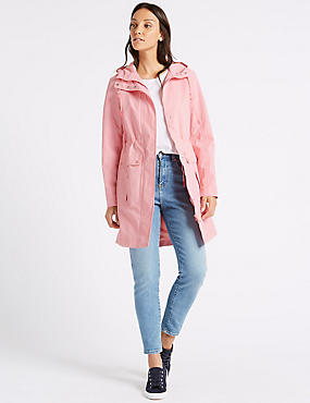 Waterproof Anorak, ROSE PINK, catlanding