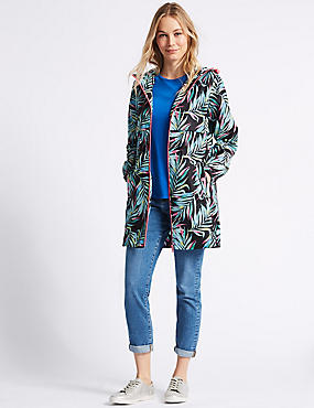 Palm Print Parka with Stormwear™