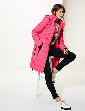 Padded Jacket with Stormwear™, BRIGHT PINK, catlanding