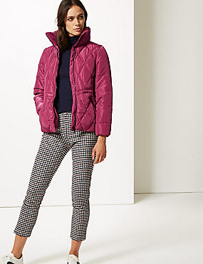 Padded Jacket with Stormwear™, RASPBERRY, catlanding
