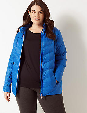 CURVE Padded Jacket with Stormwear™, RICH BLUE, catlanding