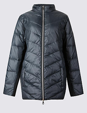 CURVE Padded Jacket with Stormwear™, BLACK, catlanding