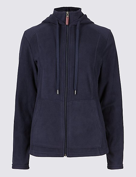 Hooded Fleece Jacket | M&S Collection | M&S
